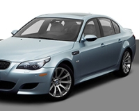 BMW-M5-2008 Compatible Tyre Sizes and Rim Packages
