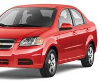 Chevrolet-Aveo-2008 Compatible Tyre Sizes and Rim Packages
