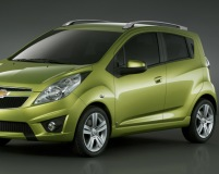 Chevrolet-Spark-2010 Compatible Tyre Sizes and Rim Packages