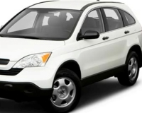 Honda-CRV-2007 Compatible Tyre Sizes and Rim Packages