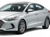 Hyundai-Elantra-2017 Compatible Tyre Sizes and Rim Packages