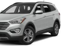 Hyundai-SantaFe-2012 Compatible Tyre Sizes and Rim Packages