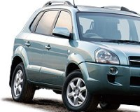 Hyundai-Tucson-2004 Compatible Tyre Sizes and Rim Packages