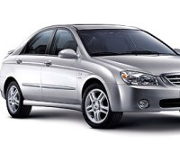 Kia-Cerato-2008 Compatible Tyre Sizes and Rim Packages