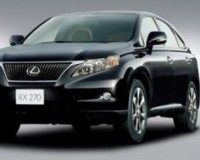 Lexus-RX270-2010 Compatible Tyre Sizes and Rim Packages