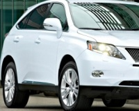Lexus-RX450Hybrid-2009 Compatible Tyre Sizes and Rim Packages