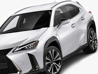 Lexus-UX200-2019 Compatible Tyre Sizes and Rim Packages