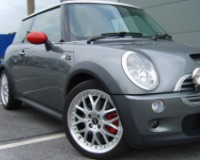 Mini-Cooper-R50,52,53,55,56,57 Compatible Tyre Sizes and Rim Packages