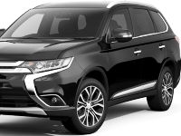 Mitsubishi-Outlander-2016 Compatible Tyre Sizes and Rim Packages