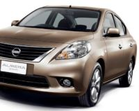 Nissan-Almera-2012 Compatible Tyre Sizes and Rim Packages