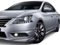 Nissan-Sylphy-2014 Compatible Tyre Sizes and Rim Packages