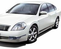 Nissan-Teana-2009 Compatible Tyre Sizes and Rim Packages