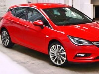 Opel-Astra-2016 Compatible Tyre Sizes and Rim Packages