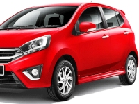 Perodua-Axia-2016 Compatible Tyre Sizes and Rim Packages