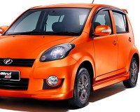 Perodua-Myvi-2008 Compatible Tyre Sizes and Rim Packages