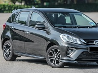 Perodua-Myvi-2018 Compatible Tyre Sizes and Rim Packages