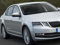 Skoda-Octavia-2018 Compatible Tyre Sizes and Rim Packages