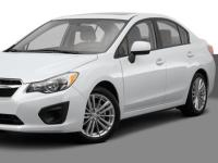 Subaru-Impreza-2014 Compatible Tyre Sizes and Rim Packages