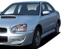 Subaru-ImprezaWRX-2005 Compatible Tyre Sizes and Rim Packages