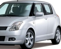 Suzuki-Swift-2008 Compatible Tyre Sizes and Rim Packages