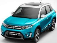 Suzuki-Vitara-2016 Compatible Tyre Sizes and Rim Packages