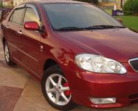 Toyota-Corrolla-Altis-2006 Compatible Tyre Sizes and Rim Packages