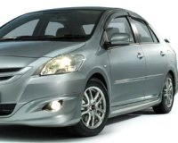 Toyota-Vios-2008 Compatible Tyre Sizes and Rim Packages