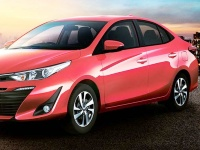 Toyota-Vios-2018 Compatible Tyre Sizes and Rim Packages